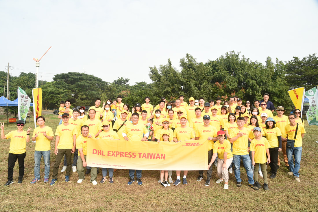 DHL Express Taiwan GVD Group Pictures